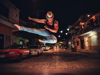 Dansen op straat - Alonso Reyes